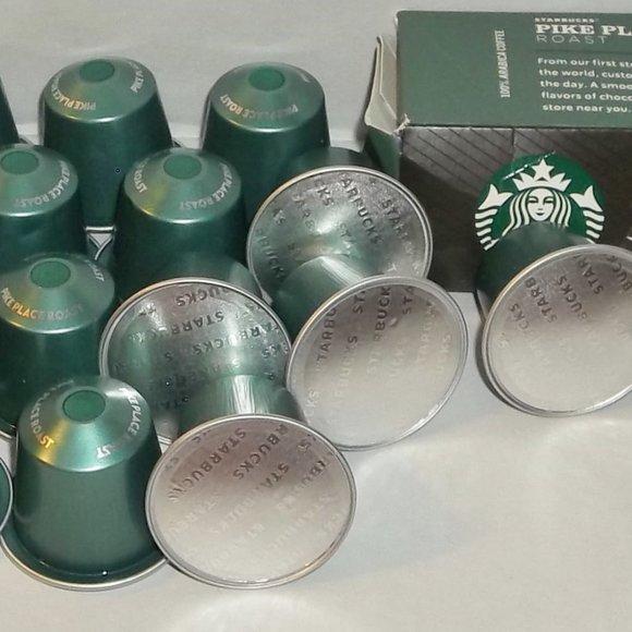 STARBUCKS Nespresso Pike Place Coffee Capsules #28